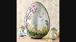 دی جی دارکی  و چلنج تخم مرغ