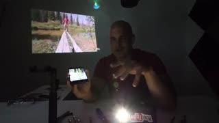 تست مقاومت گوشی Max 1 بلکویو
