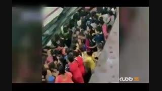 متروی هند شلوغ تر از متروی ایران!