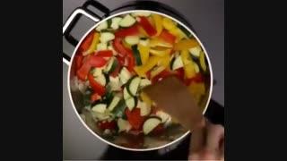 طرز تهیه پوره گلکلم با سبزیجات