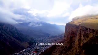 کوه ها و ارتفاعات مه آلود ماکو