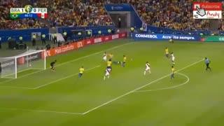 خلاصه بازی فینال کوپا امریکا بین برزیل و پرو