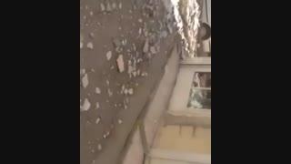 اولین تصاویر از زلزله ۵/۷ریشتری خوزستان و مسجد سلیمان