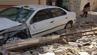 خرابیهای زلزله در مسجدسلیمان