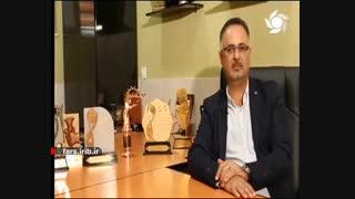 (رونق تولید)مصاحبه جناب مهندس کوروش اسد سنگابی مدیرعامل مجموعه کارخانجات گروه تولیدی پردیس-نانوسیز