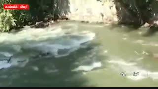 تصاویر دلخراش از غرق شدن 18نفر در رودخانه کرج جاده چالوس