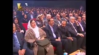 حضور اصغر فرهادی در کنسرت خنده حسن ریوندی