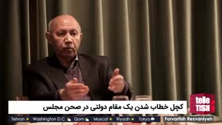 کچل خطاب شدن یک مقام دولتی در صحن مجلس