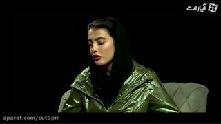اولین گفت و گوی مائده هژبری (ماهی مائده) پس از بازگشت به ایران