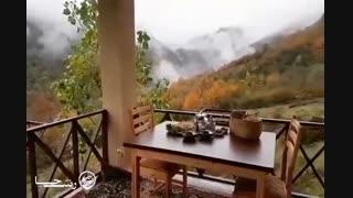 اقامتگاه بینظیر در روستای ریگ چشمه