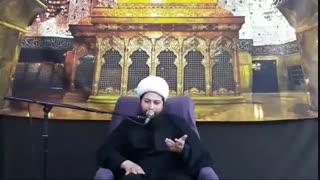 خودت را بزرگ بدانی عزت نفس پیدا نمیکنی!-حجت الاسلام محمد جواد نوروزی نصرت