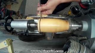 ساخت ماگ چوبی