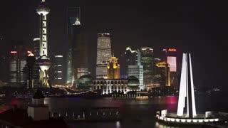 Time-lapse of Shanghai in 4k/full HD.