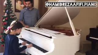 آموزش تخصصی پیانو به کودکان / حمیدرضا عفیفی