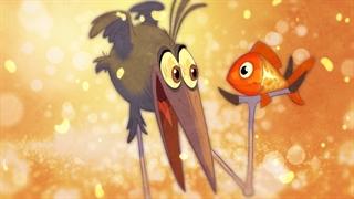 انیمیشن کوتاه پرنده کارما