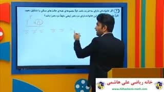 ویدیو حل تمرین کتاب درسی ریاضی نهم با علی هاشمی