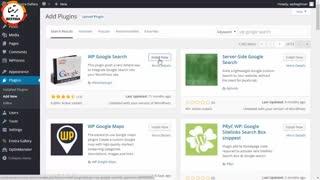 آموزش نحوه اضافه کردن جستجوی گوگل به سایت وردپرسی