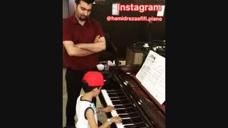 آموزش تخصصی پیانو کودکان / حمیدرضا عفیفی