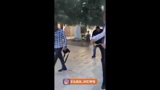 استقبال مردم فلسطین از نماینده آل سعود با فحش و تف