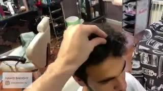 کراتینه زدن موی مردانه 09211643974