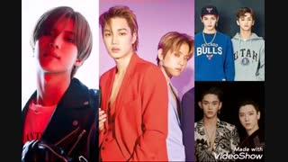 همکاری گروه های کمپانی اس ام SHINee , EXO , NCT