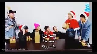 وقتی کادوی کریسمس جیمین ... XD *ته خنده *