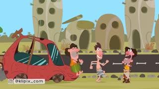 مجموعه انیمیشن گاگولا- تصادفات جاده ای