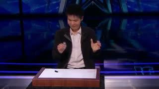 اجرای شعبده بازی خفن و تماشایی این مرد در آمریکن گات تلنت 2019