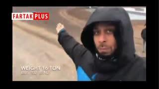 پشت صحنه بدلکاری ارشا اقدسی در فیلم «قسم» و سقوطش با اتوبوس