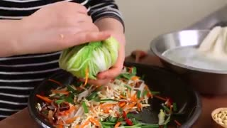 نوع دیگر کیمچی بنام: Baek kimchi