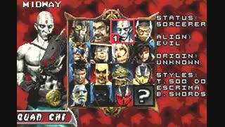 4 دقیقه گیم پلی بازی مورتال کمبت Mortal Kombat Tournament Edition تورنامنت تهبیه شده برای کامپیوتر