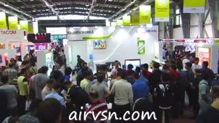 ایرویژن در نمایشگاه بین المللی الکامپ  نام مشتری:خانه موبایل