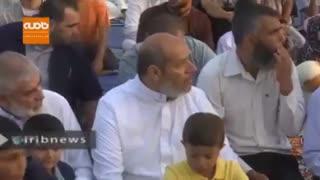 برپایی نماز عید قربان در قدس