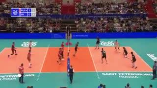 خلاصه والیبال ایران 0 - روسیه 3 (انتخابی المپیک)