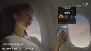 ویدئوی معرفی رسمی گوشی سامسونگ مدل Galaxy Note 10
