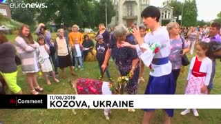 مسابقه بُزهای بزک کرده در اوکراین