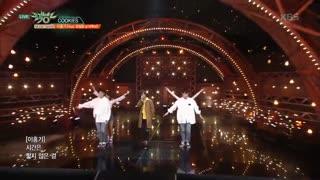 اجرای ناز COOKIES از لی هونگ کی همراه ایلهون از BTOB ❤^_^❤ پسر کیوت کوچولوم^@^نی نی منه با اون چشما و لباش^@^اخه آهنگش...❤_❤