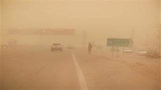 سیستان و بلوچستان در چنبره طوفان گرد و غبار
