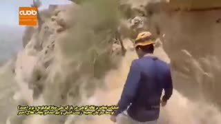 نجات بزغاله کوهی