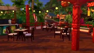 سیمز 4 - گیم پلی ساخت و ساز رستوران غذاهای دریایی
