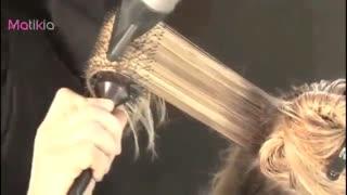 براشینگ و مرتب کردن مو ها