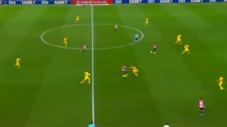 خلاصه بازی بارسلونا 0-1 اتلتیک بیلبائو (سوپر گل آدوریز)