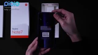 جعبه گشایی گوشی Redmi Note 7