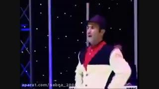 جنگ شبانه کیش با حضور شومن محبوب اکبر اقبالی