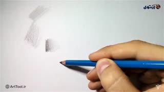 پنج روش کاربردی  کنترل فشار دست در طراحی  با مداد - روش سوم