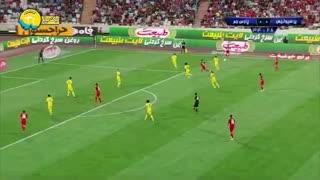 خلاصه بازی پرسپولیس 1 - پارس جنوبی جم 0 ( لیگ برتر ایران )