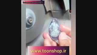 نحوه صحیح تراش سنگ های نیمه قیمتی با دستگاه تراش
