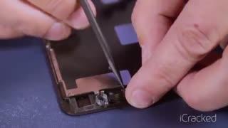 آموزش تعویض صفحه نمایش گوشی آیفون 8