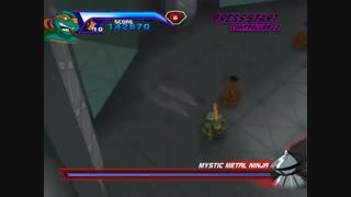 8 دقیقه گیم پلی بازی لاک پشت های نینجا Teenage Mutant Ninja Turtles 1 2003 برای کامپیوتر