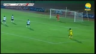 خلاصه بازی شاهین یوشهر 0 - سپاهان 3 ( لیگ برتر ایران )